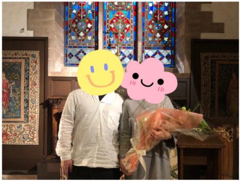プロポーズはステンドグラスの教会で♥
